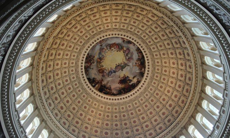 US Capitol ceiling
