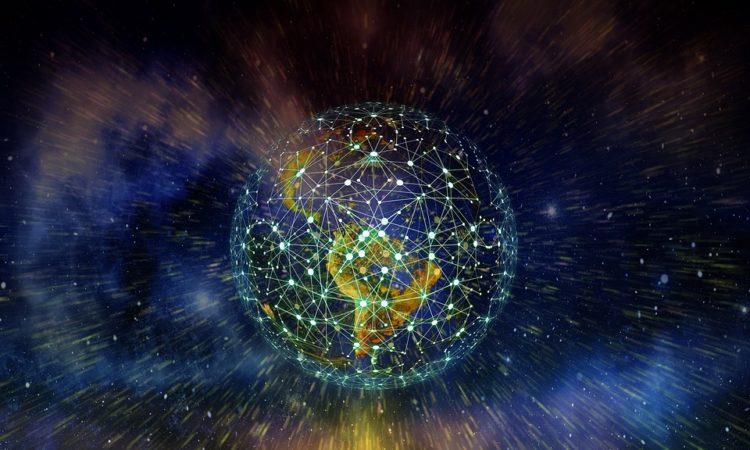 earth, network, globalization