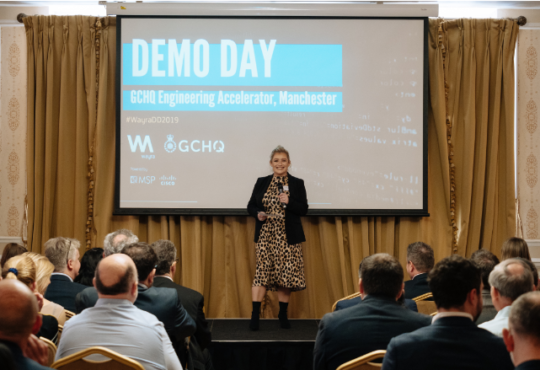 GCHQ accelerator demo day