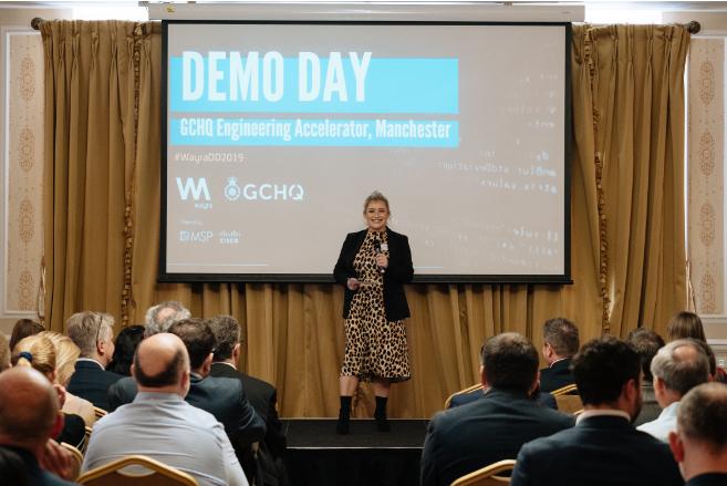 GCHQ accelerator demo day