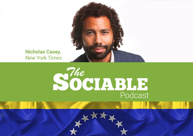 the sociable podcast, Nick Casey, new york times