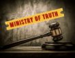 judge gavel ministry of truth