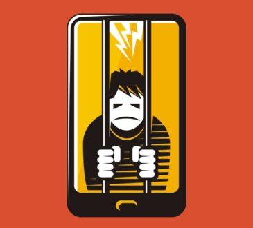 phone prisoner