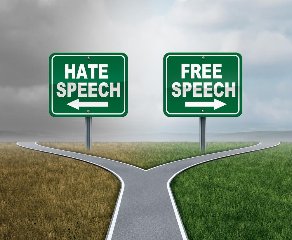 free speech, hate speech