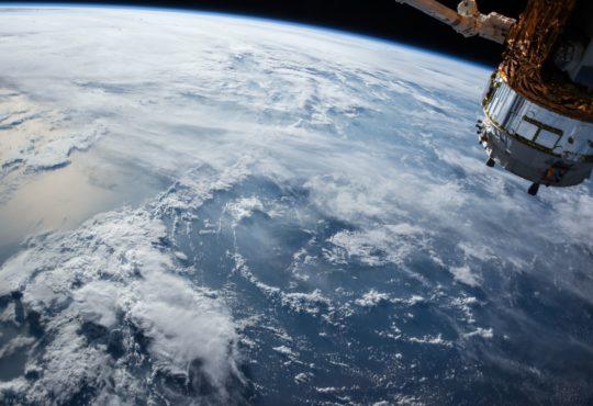 satellite over earth-pixabay