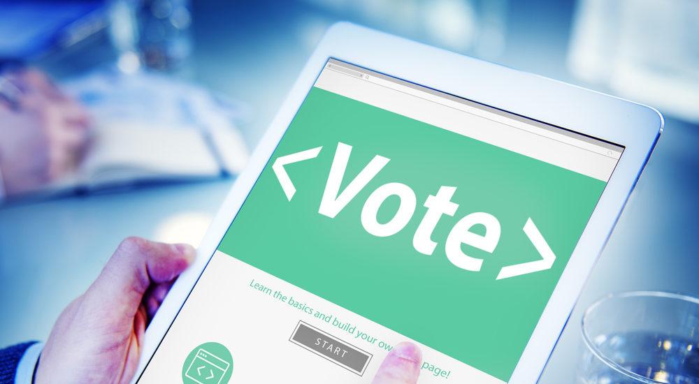 vote tablet