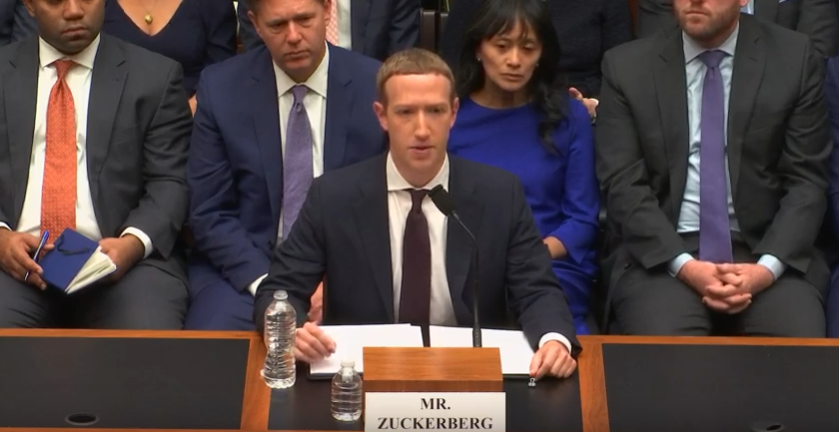 zuckerberg house hearing