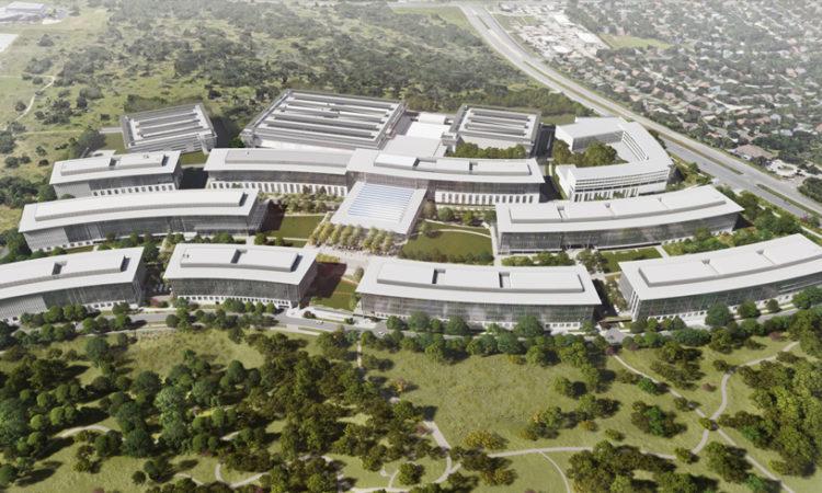 Apple breaks ground on new campus in Austin, TX
