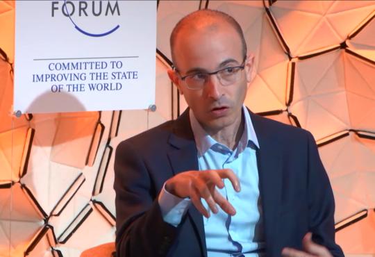 Yuval Harari WEF 2020