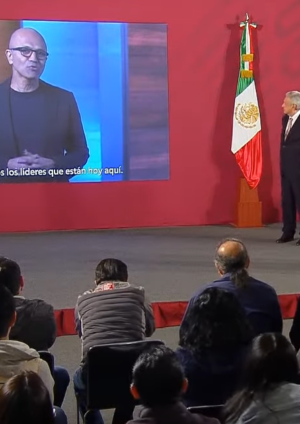 Microsoft CEO Satya Nadella Mexico