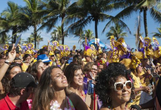 Carnival celebrations in Rio de Janeiro.