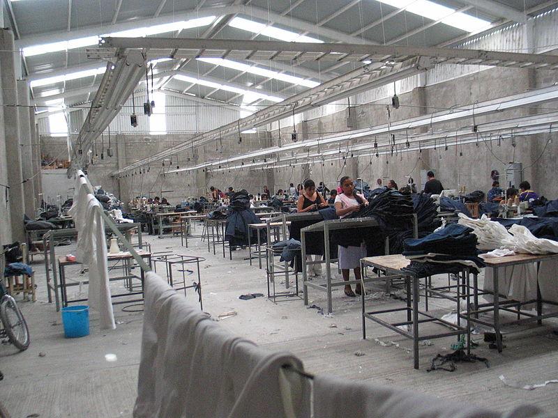 Maquiladora factory.