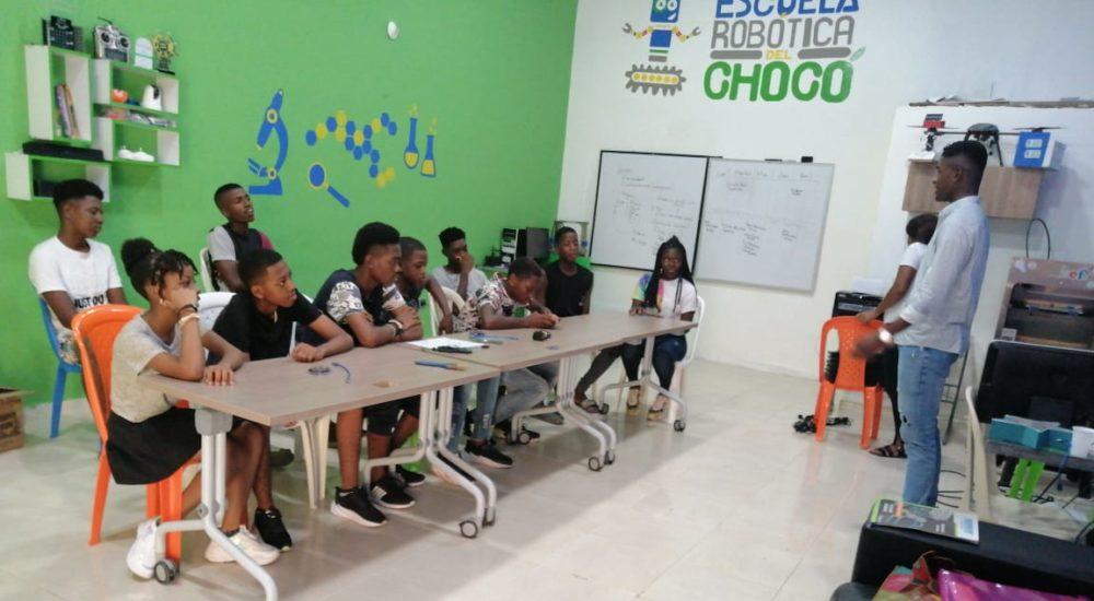 Choco School for Robotics, Colombia
