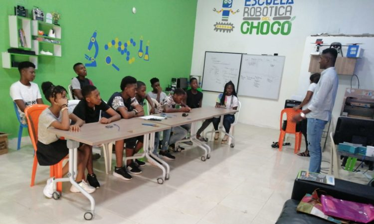 Choco School for Robotics, Colombia