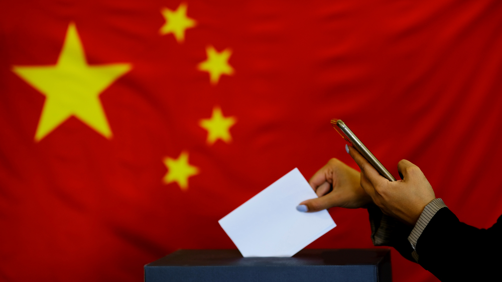 china mail-in ballot vote cybersecurity