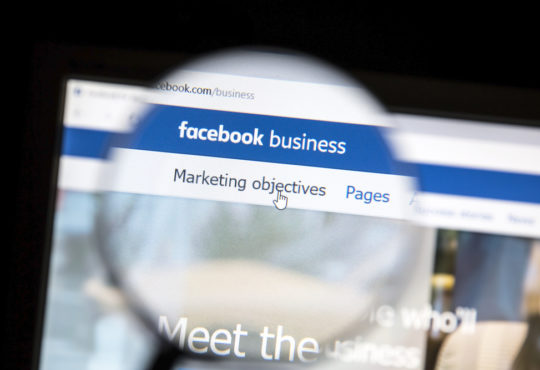 facebook business algorithms
