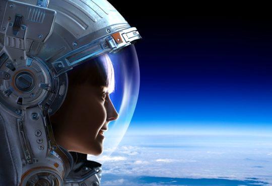 woman moon mars nasa