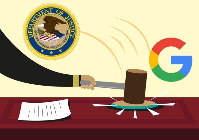 doj antitrust google