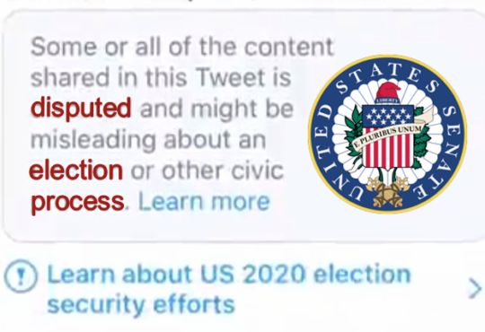 censorship disputed election