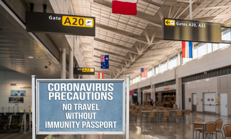 covid passport travel