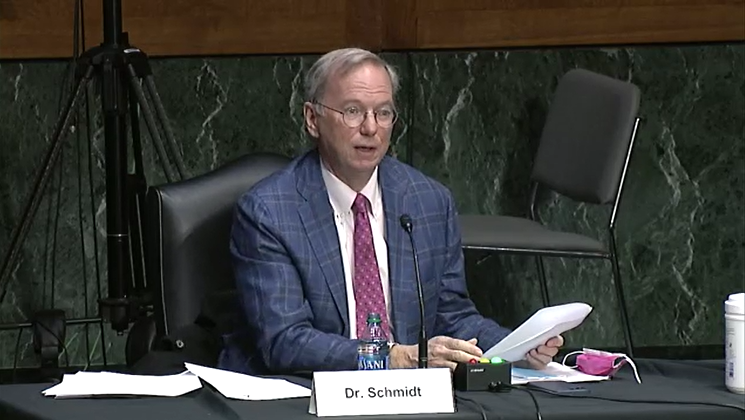 'We Need to Build Missiles the Way We Build Cars': Eric Schmidt Tells Lawmakers