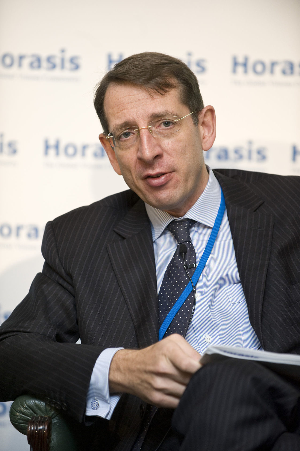 Frank-Jürgen Richter, chairman of Horasis (Photo courtesy of Wikipedia)