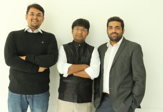 Innovaccer's co-founders (L to R) Sandeep Gupta, Abhinav Shashank, and Kanav Hasija (Image credit: Innovaccer)