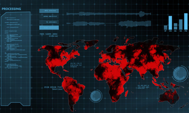 queda de internet, ciberpandemia