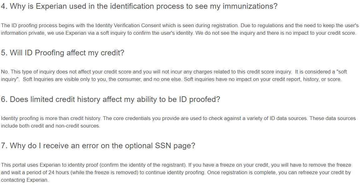 Vax Verify FAQ