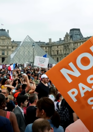 covid passport authoritarian