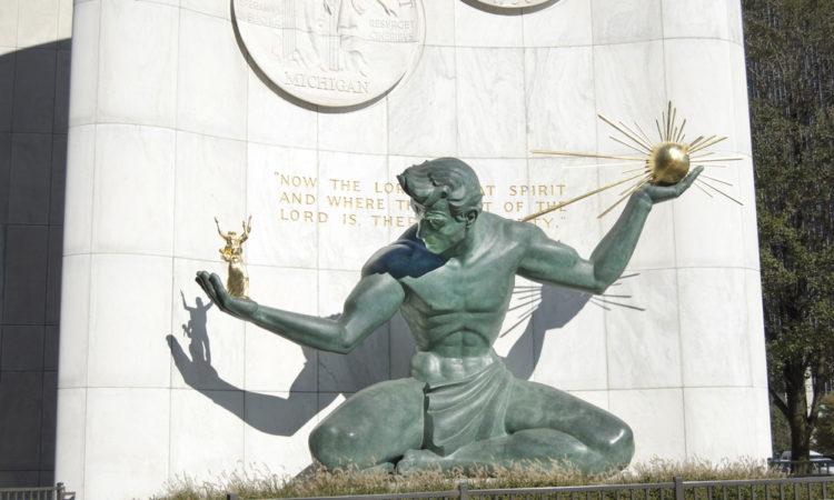 """Die Architekten des """"Great Reset"""" legen in Detroit den Grundstein für die """"urbane Transformation"""" des Hauptquartiers"""