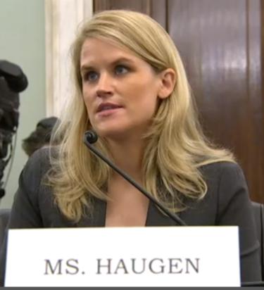 Frances Haugen , facebook whistleblower